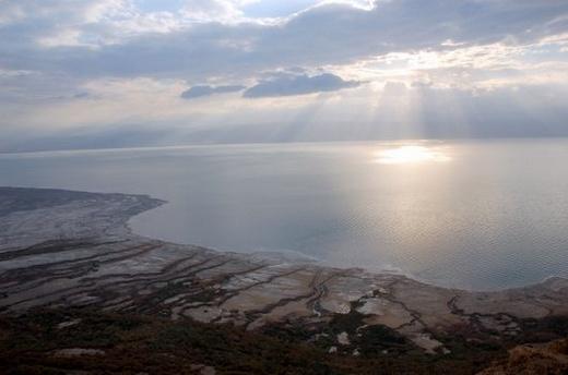 נוף ים המלח מהתצפית