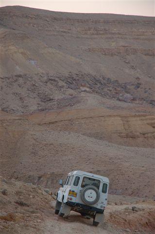המכתש הגדול ולנדרובר דיפנדר