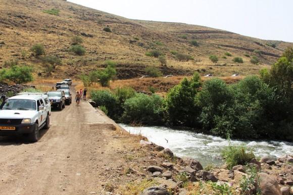 חוצה ישראל 4X4, נהר הירדן