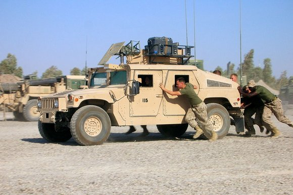 HUMMER האמר צבאי