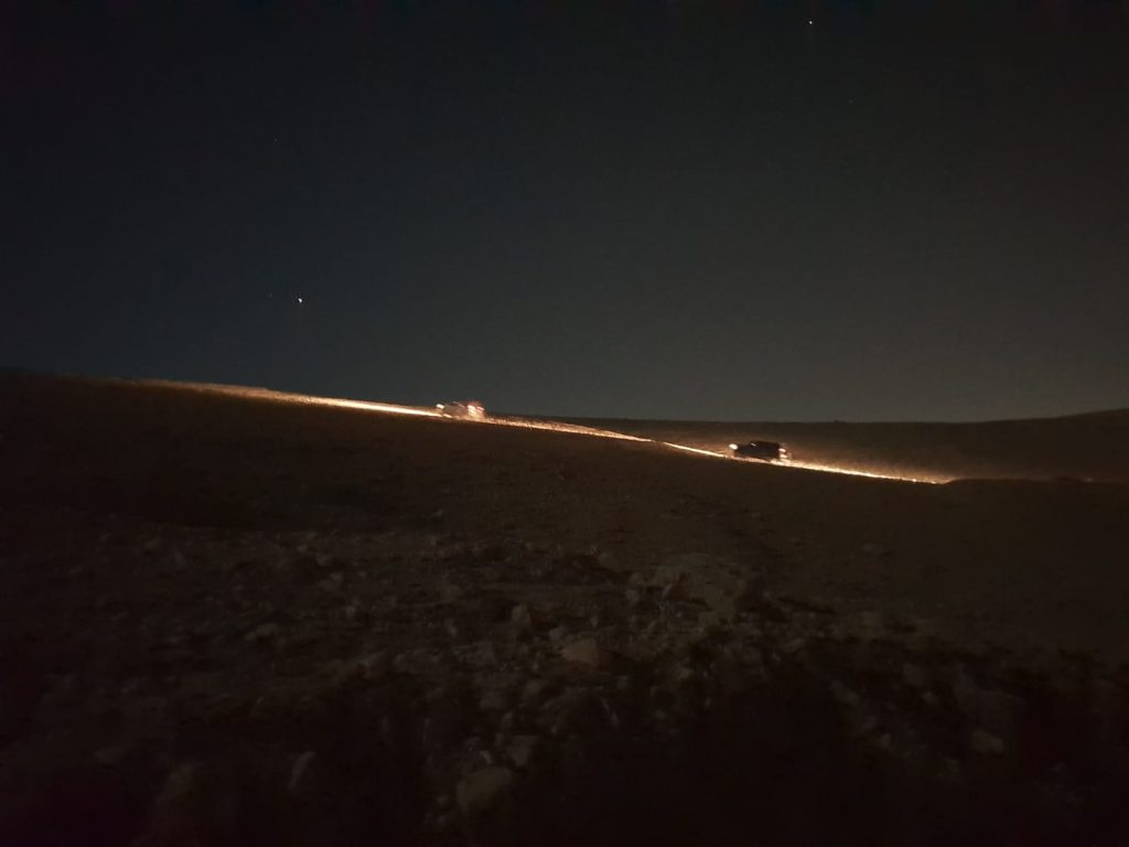 נהיגת לילה NIGHT 4X4 DRIVING