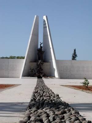 אנדרטת לח.י. החי על מת