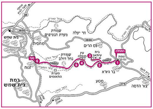 האופנה האופנתית נחל המערה ומערת התאומים - שבילים – המאגר הישראלי למסלולי 4X4 IO-93