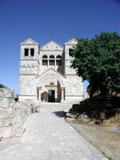 הכנסיה הפרנציסקנית בהר תבור
