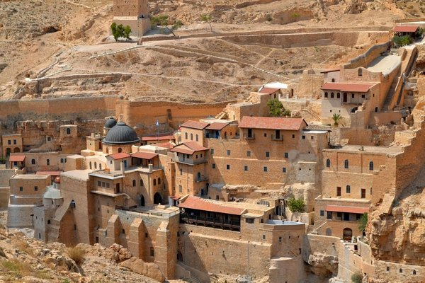 מנזר מרסבא מדבר יהודה