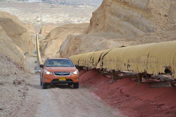 מסלול המסוע מפעלי ים המלח