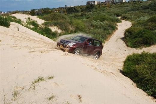 נהיגה בחול