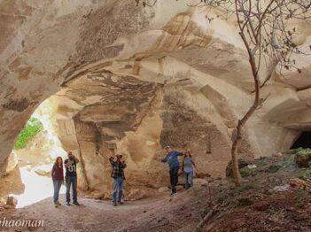 תל צפית רמת אבישור מערות לוזית