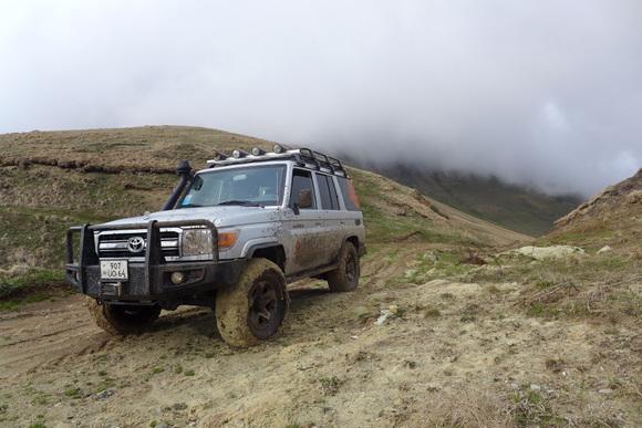 ארמניה טיול ג'יפים