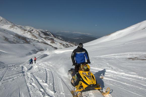 גיאורגיה אופנוע שלג