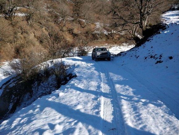 גיאורגיה טיול שלג 4X4
