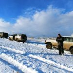 גיאורגיה טיול שלג