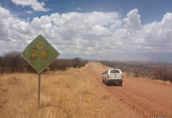 נמיביה טיול שטח 4X4