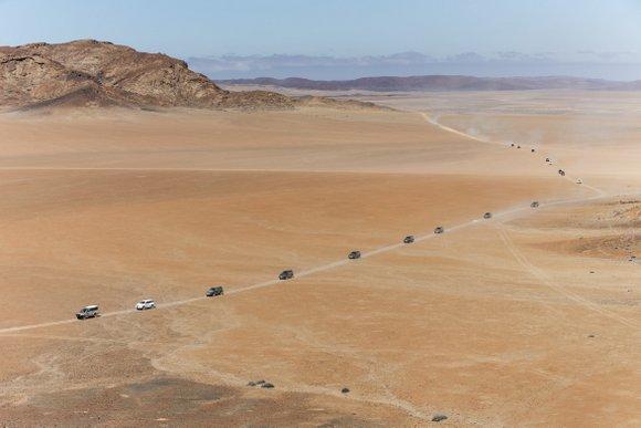 נמיביה שטח