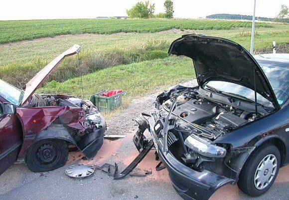 תאונה חזיתית WIKI