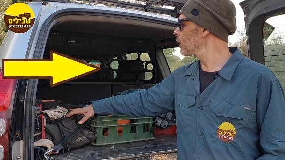 רוקס נט חוצץ בטיחותי תא המטען