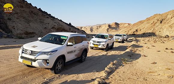 דרך עפר נמיביה