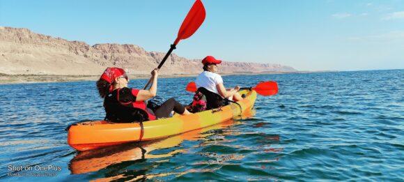 שייט ים המלח צילום: טיולים ואתגרים